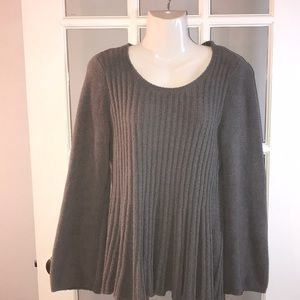 STYLE & CO gray sweater size M
